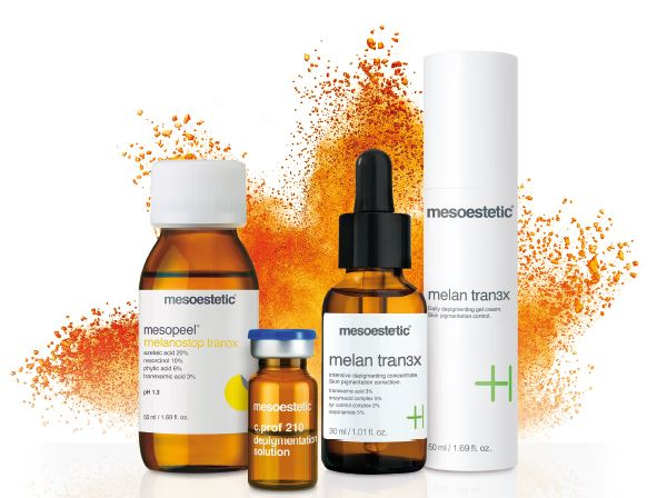 The power of Tran3x - mesoestetic